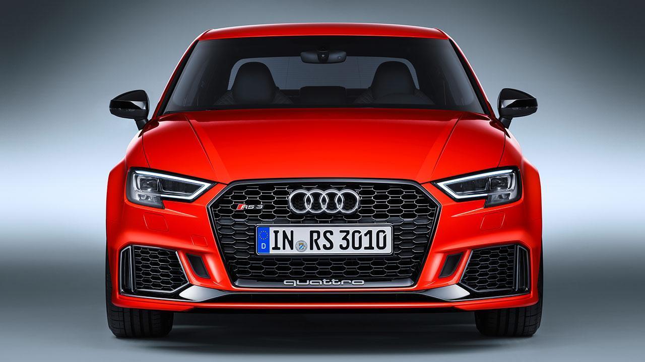 Audi RS 3 Limousine 2017 - Frontansicht