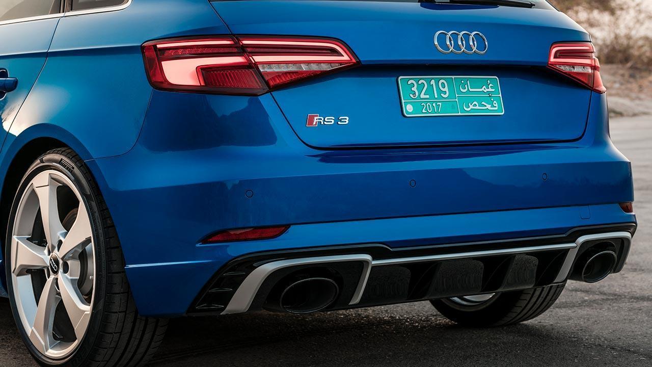 Audi RS 3 Sportback 2017 - Heckansicht