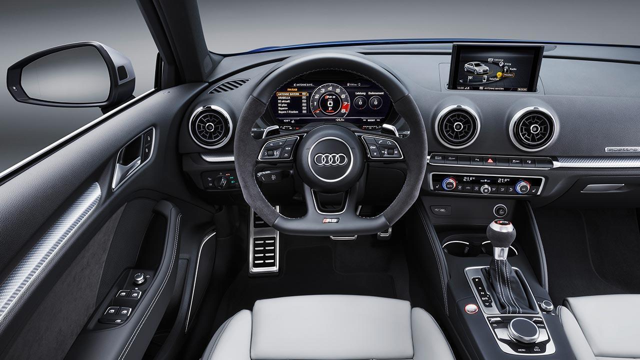 Audi RS 3 Sportback 2017 - Cockpit