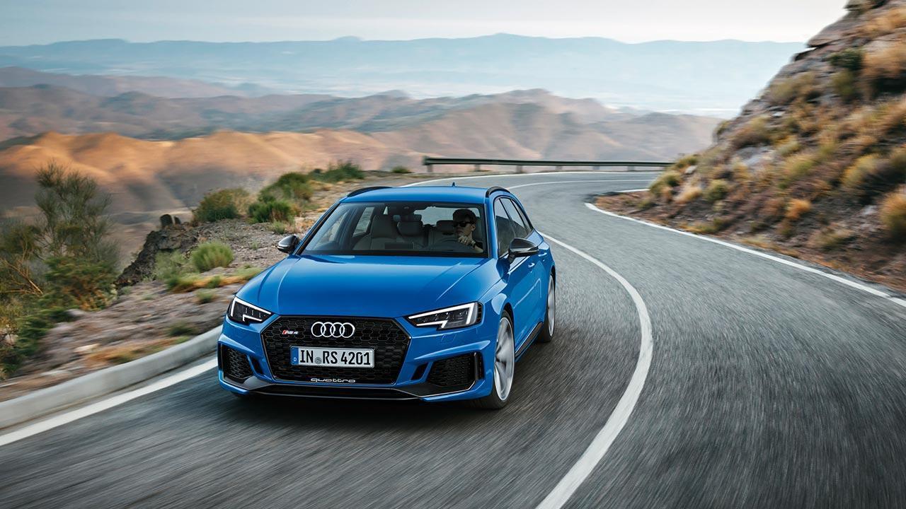 Audi RS 4 Avant 2017 - Frontansicht