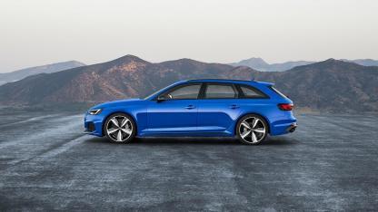 Audi RS 4 Avant 2017 - Seitenansicht