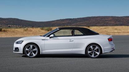 Das S5 Cabriolet von Audi