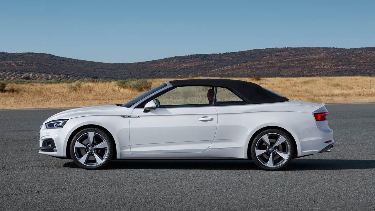 Audi S5 Cabriolet 2017 - Seitenansicht