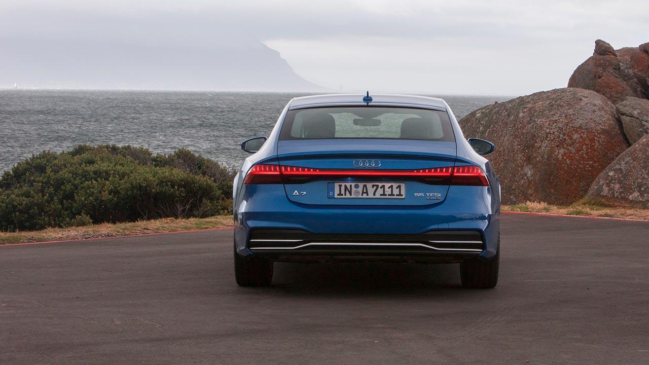 Audi A7 Sportback 2017 - Heckansicht