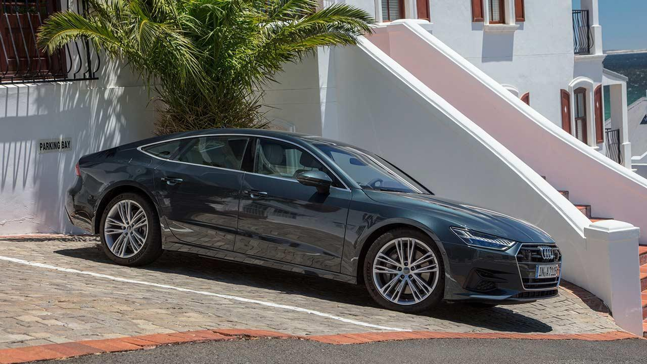 Audi A7 Sportback 2017 - am Parkplatz