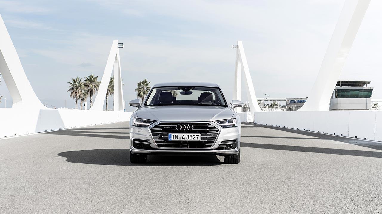 Audi A8 2017 - Frontansicht