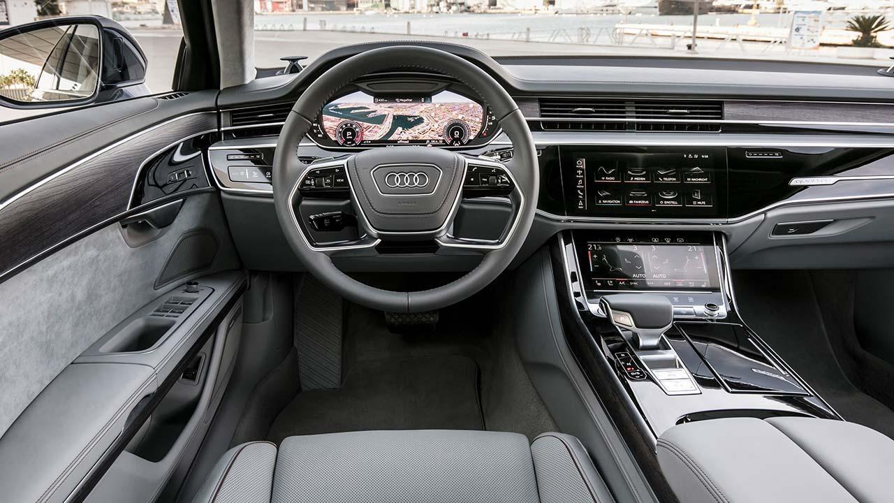 Audi A8 2017 - Cockpit