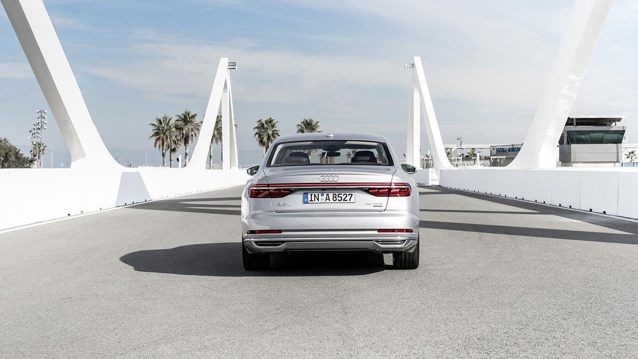 Audi A8 2017 -  Heckansicht