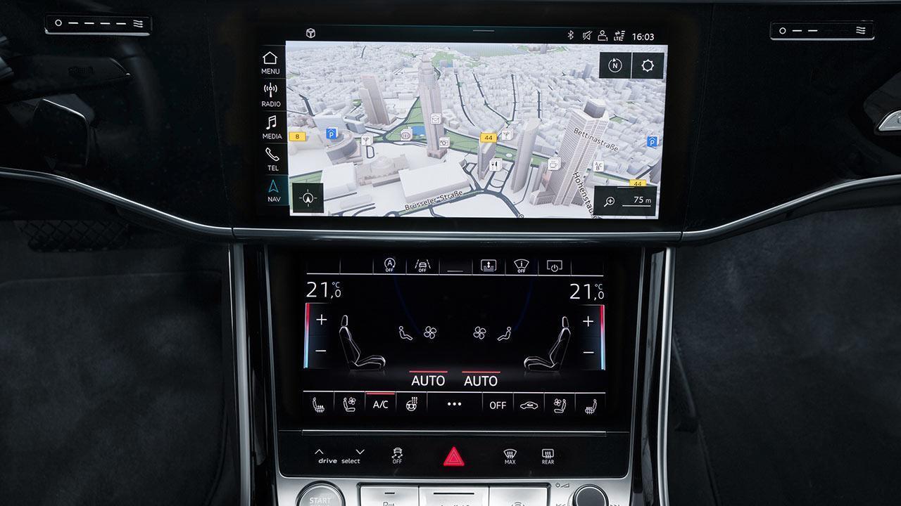 Audi A8 2017 -  Bordcomputer