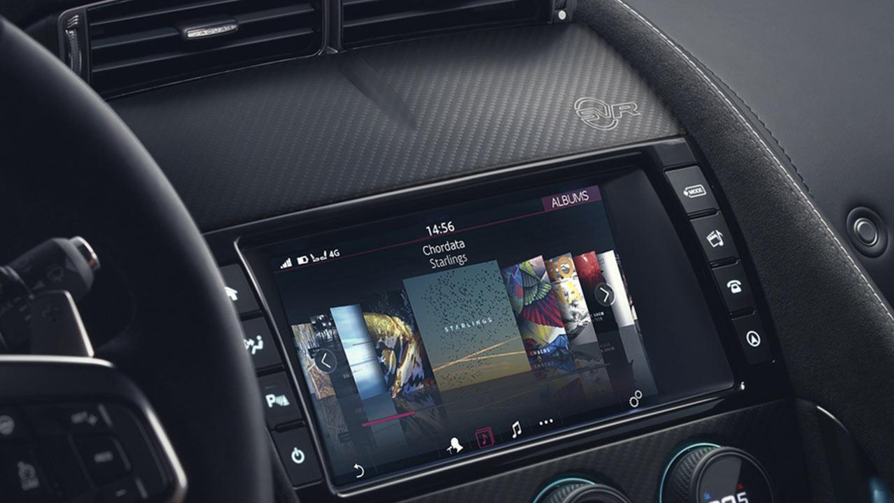 Jaguar F-TYPE - Soundsystem