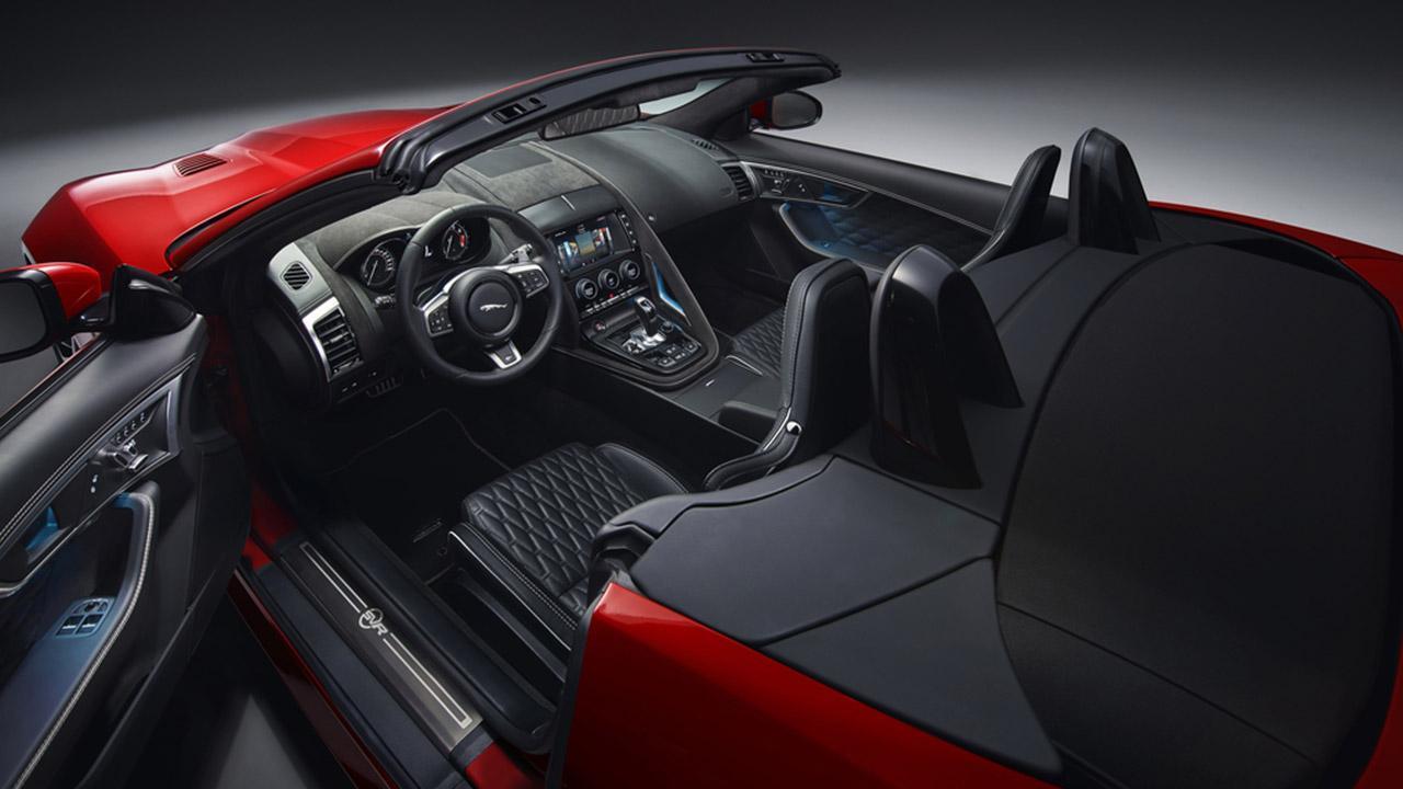 Jaguar F-TYPE - Cockpit