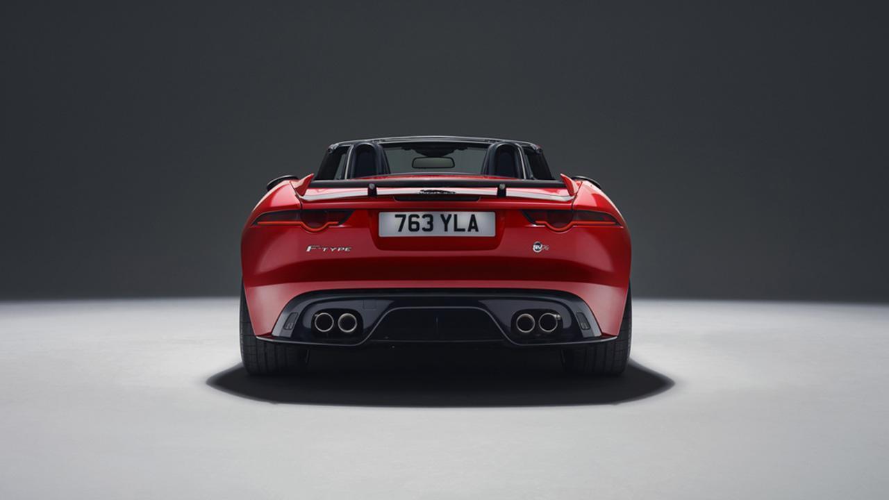 Jaguar F-TYPE - Heckansicht