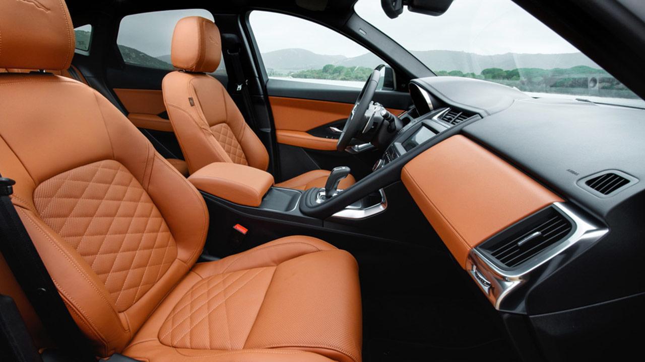 Jaguar E-PACE - Vordersitze