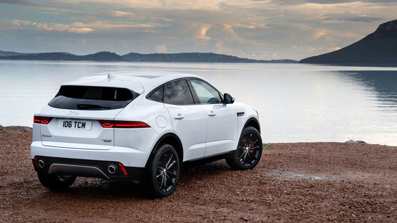 Jaguar E-PACE - Rückansicht