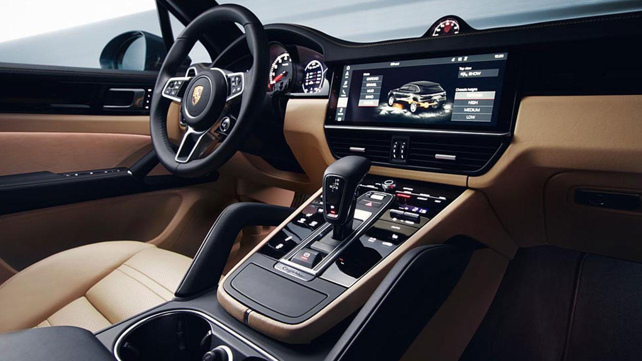 Porsche Cayenne - Cockpit