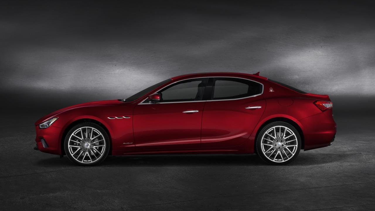 Maserati Ghibli - Seitenansicht