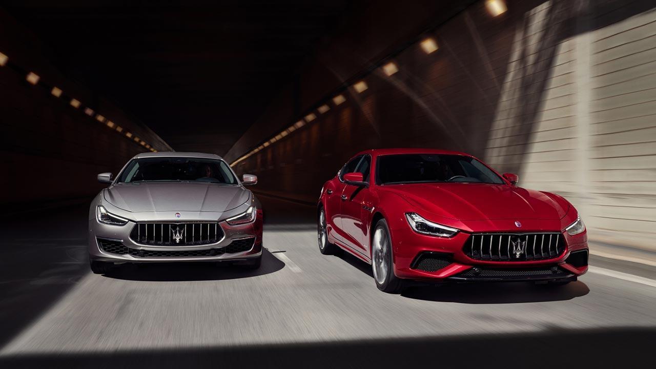 Maserati Ghibli - mehrere Farben