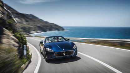 Der GranCabrio von Maserati