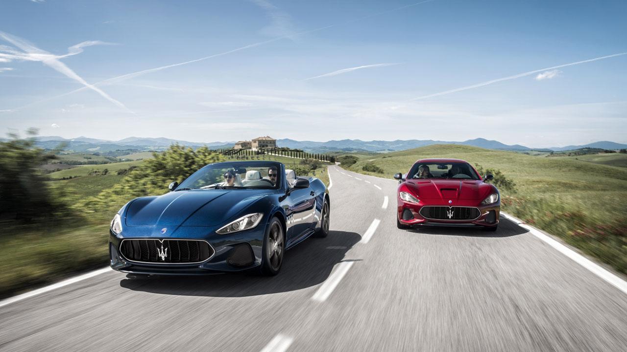 Maserati GranCabrio - mehrere Farben