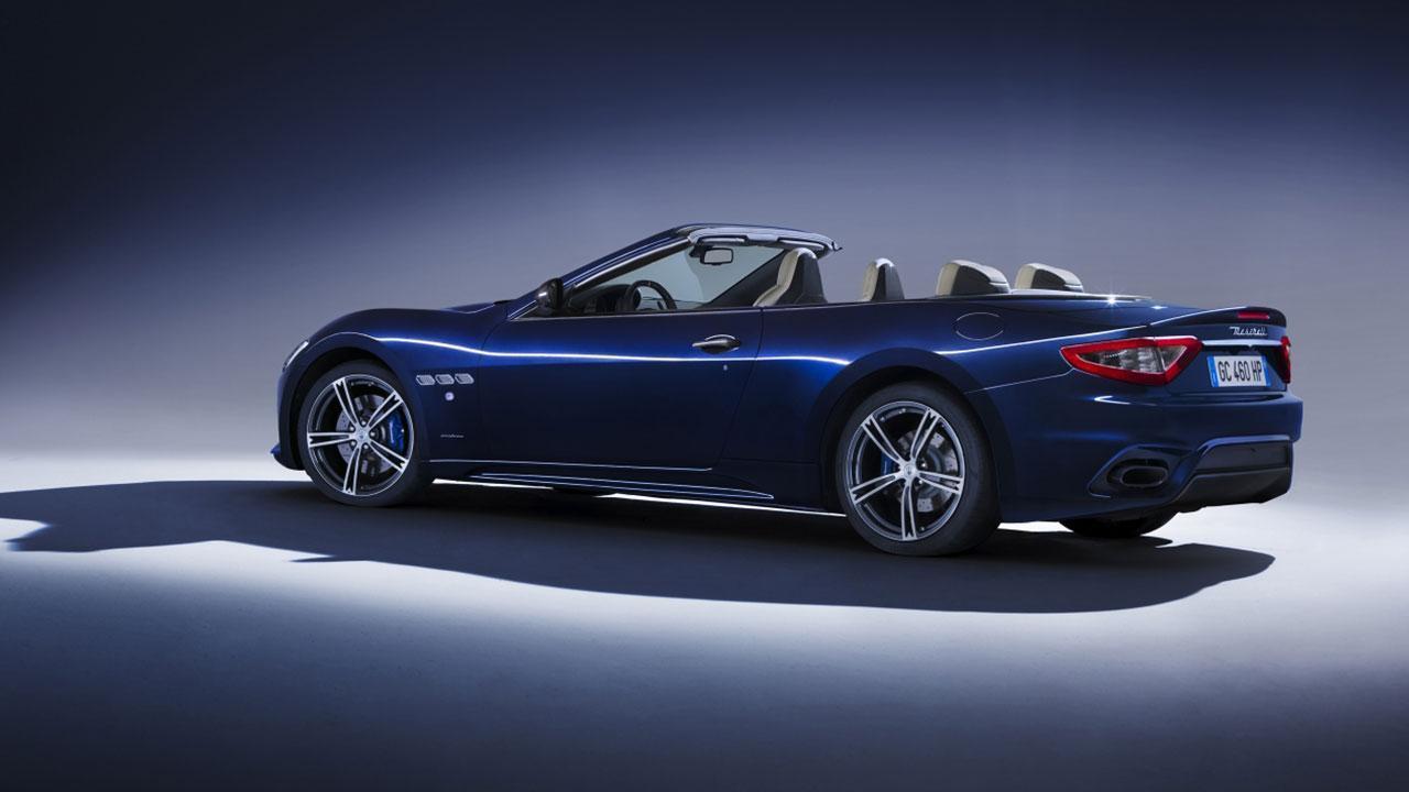 Maserati GranCabrio - Seitenansicht