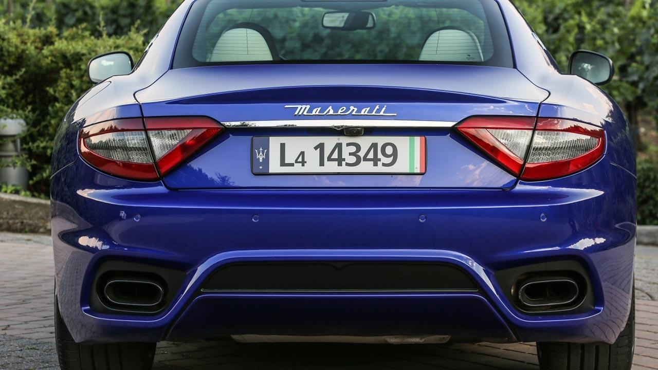 Maserati Gran Turismo - Heckansicht