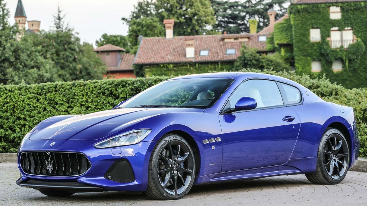 Maserati Gran Turismo - Seitenansicht