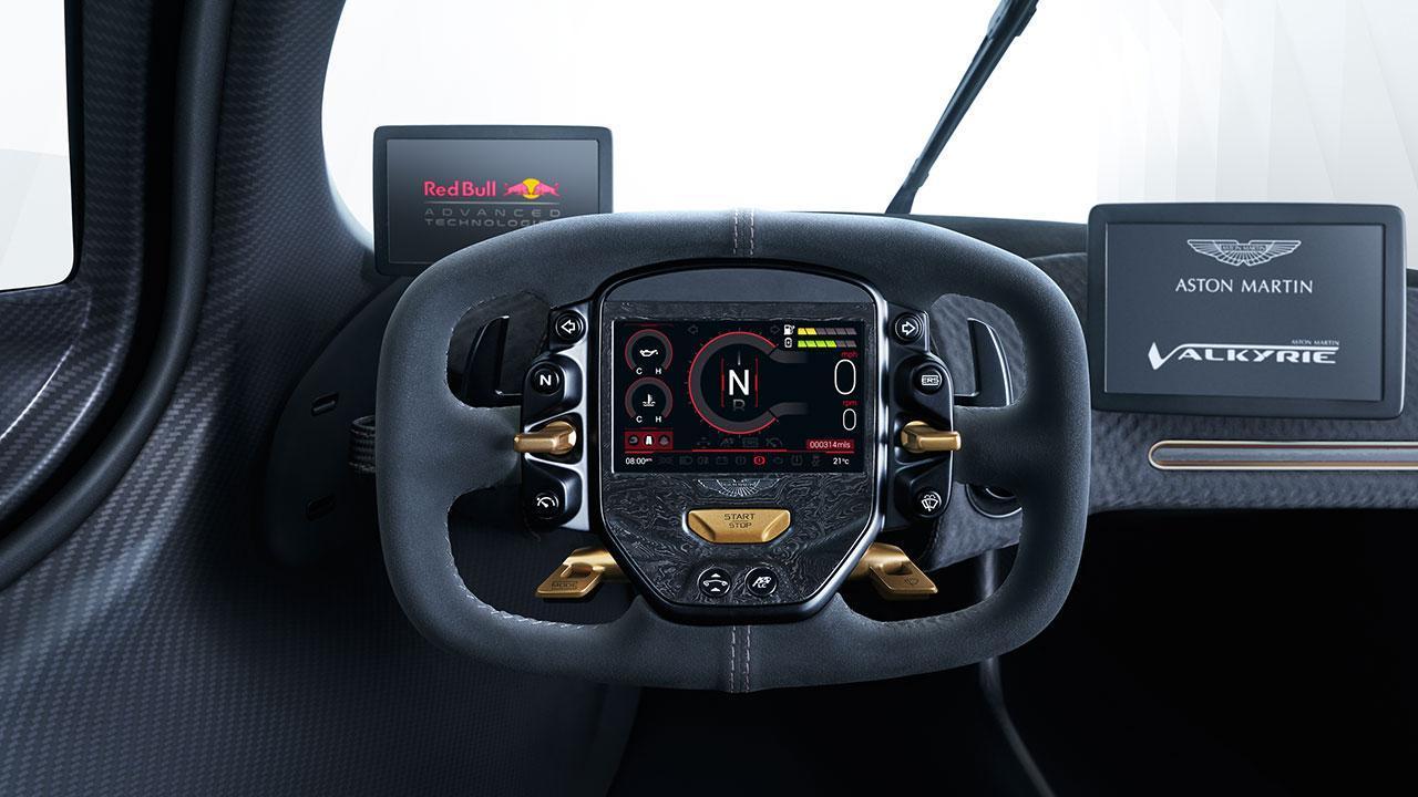 Aston Martin Valkyrie - Lenkrad