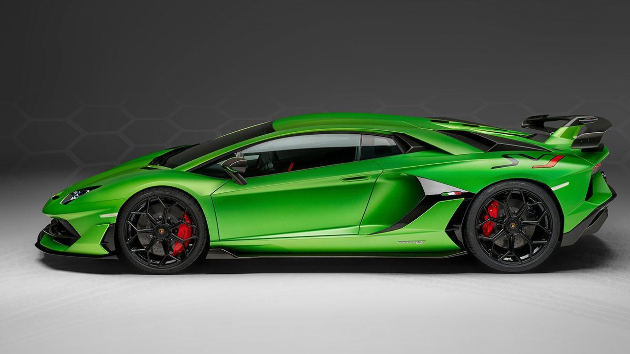 Lamborghini Aventador SVJ - Seitenansicht