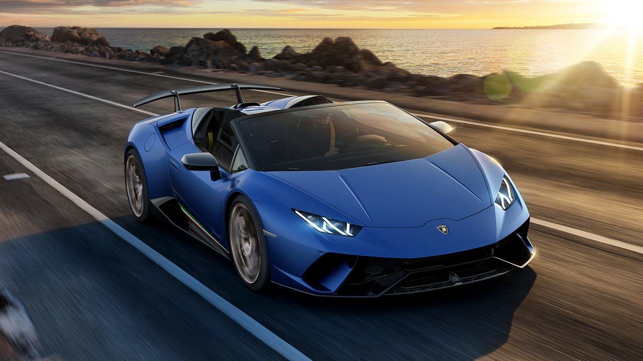 Lamborghini Huracán Performante Spyder - auf der Straße