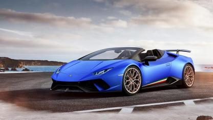 Lamborghini Huracán Performante Spyder - am Meer