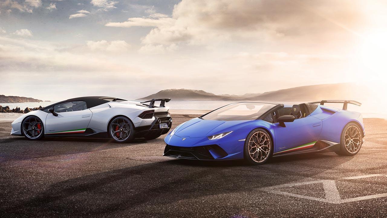 Lamborghini Huracán Performante Spyder - verschiedene Farben