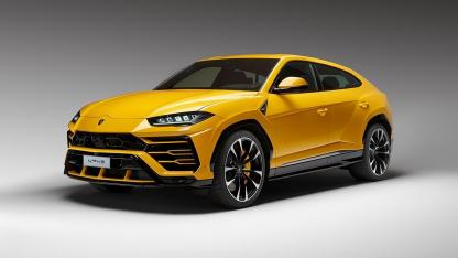 Lamborghini Urus - seitliche Frontansicht