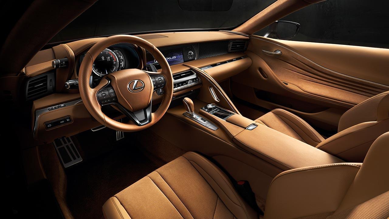 Lexus LC - Cockpit