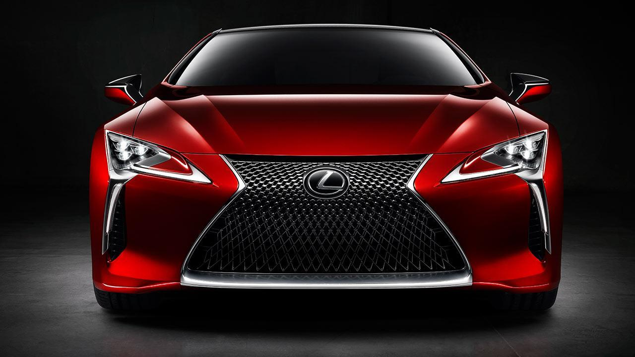 Lexus LC - Frontansicht