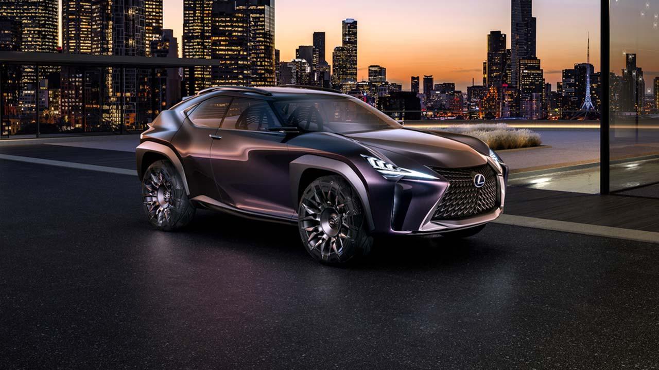 Lexus UX - Seitenansicht