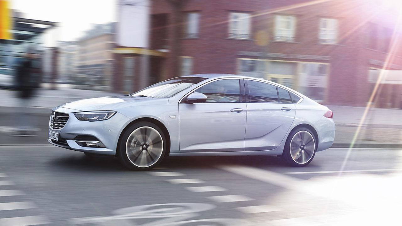 Opel Insignia - Seitenansicht