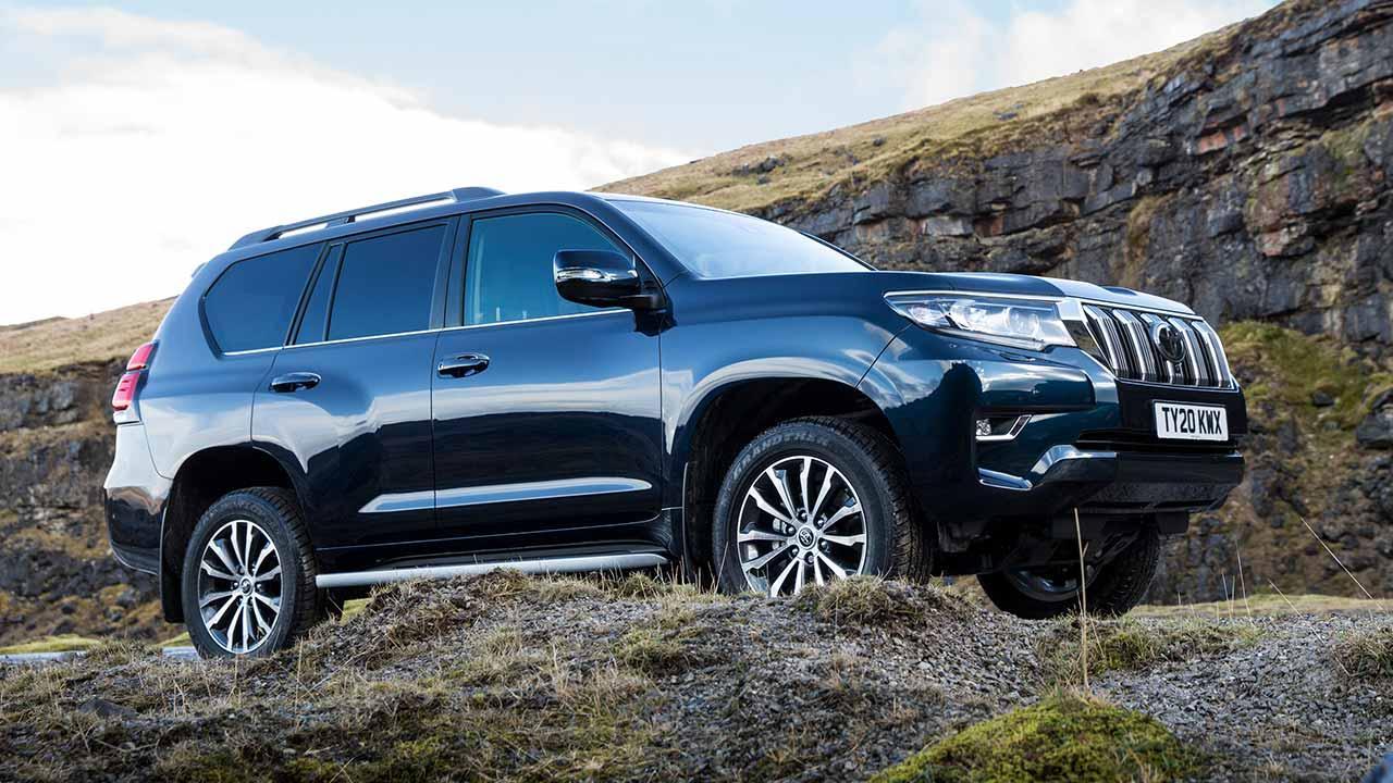Toyota Land Cruiser - Seitenansicht