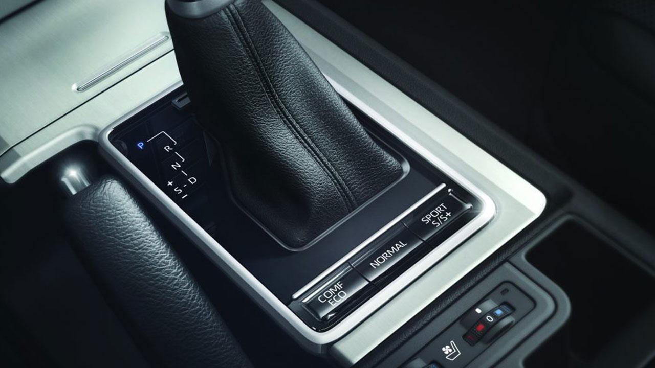 Toyota Land Cruiser - Schaltkonsole