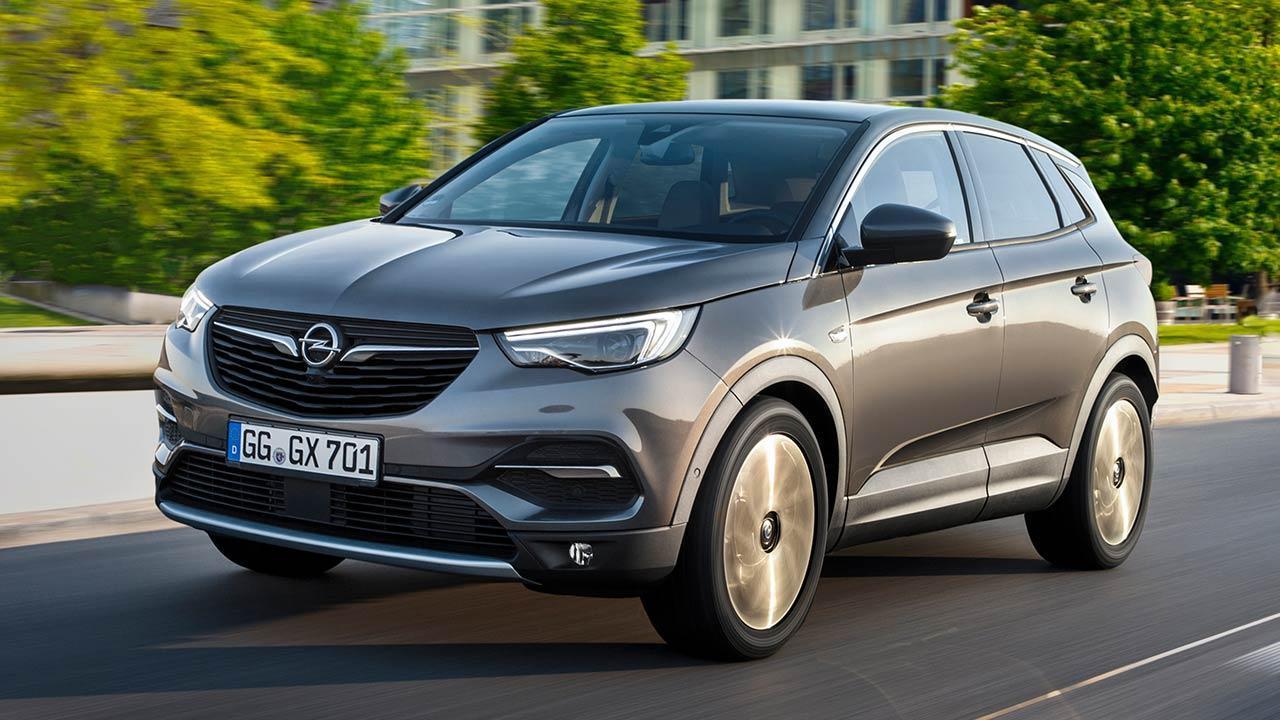 Opel Crossland X - in Grau