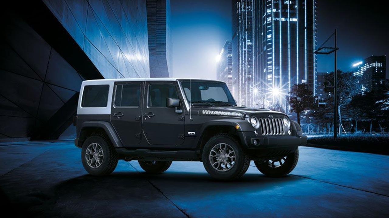 Jeep Wrangler - im Großstadtdschungel