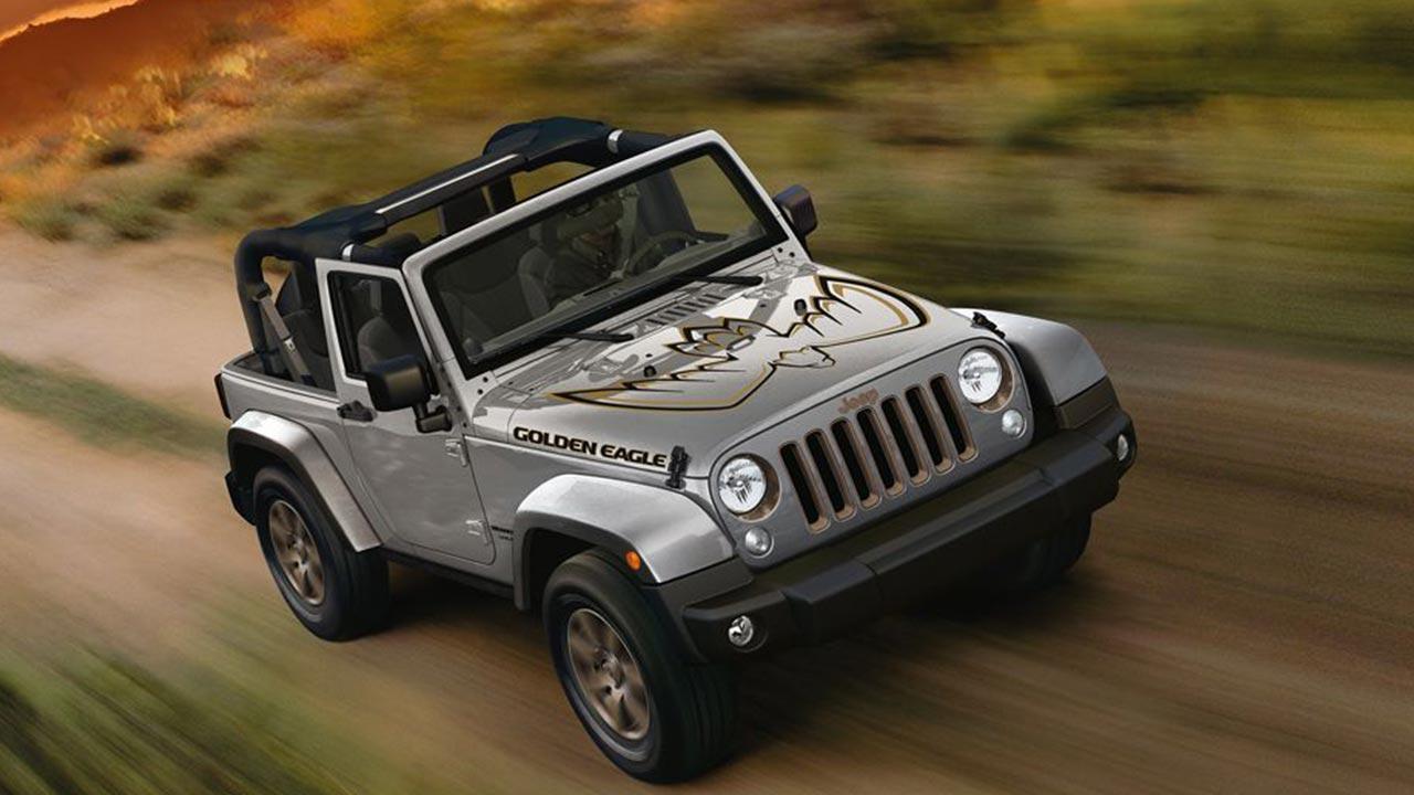 Jeep Wrangler - über die Piste