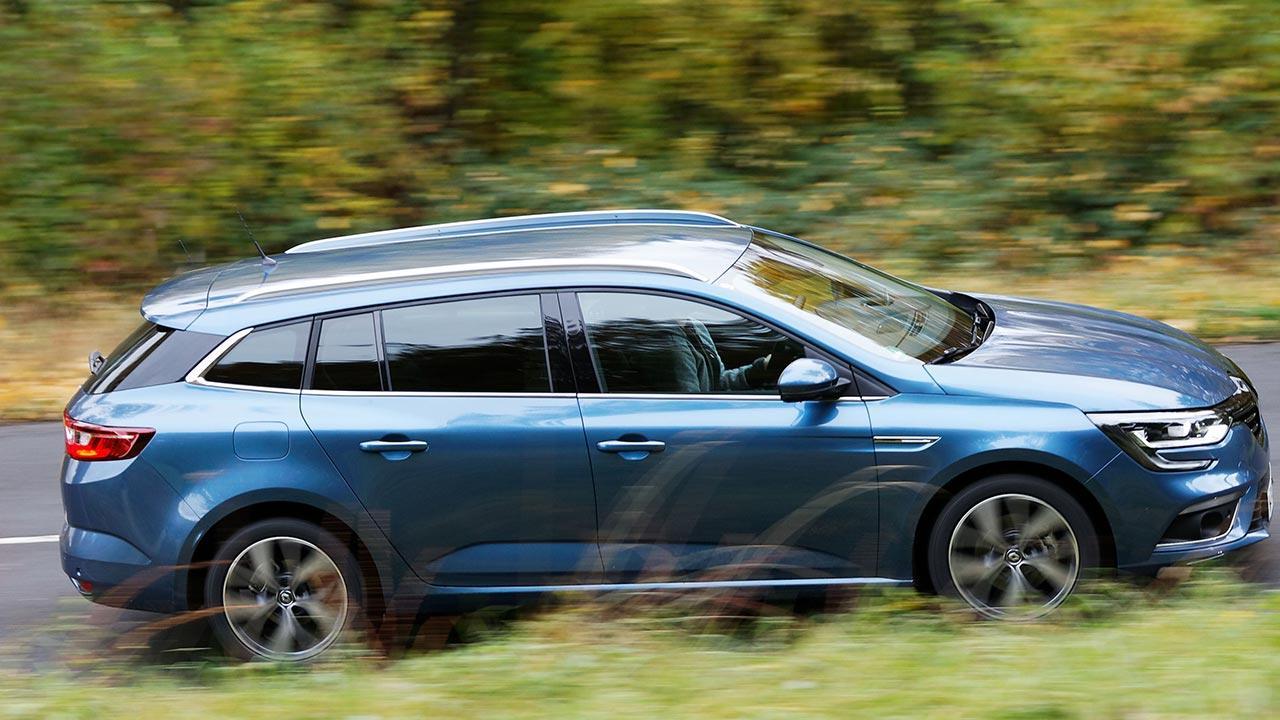 Renault Mégane - Kombi Seitenansicht