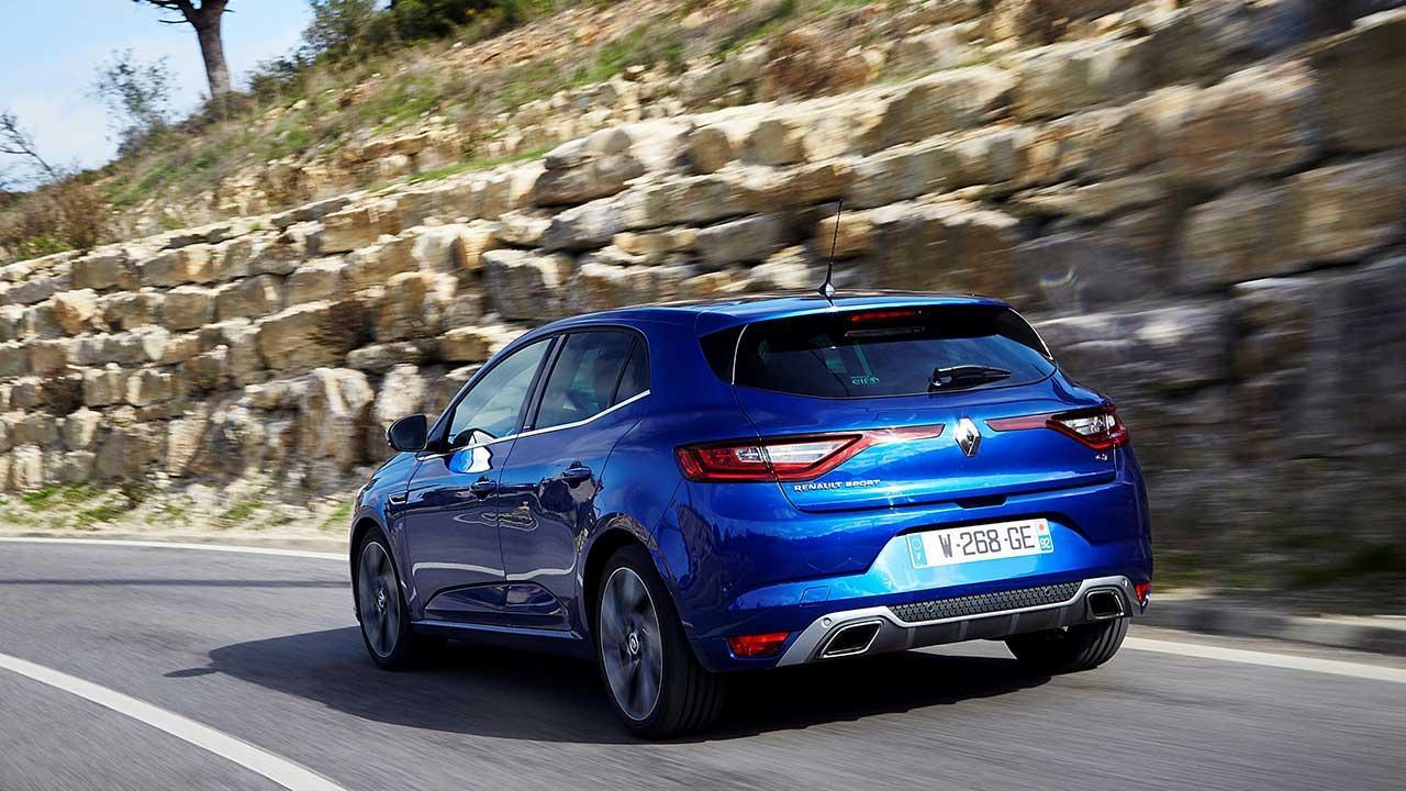 Renault Mégane - Heckansicht