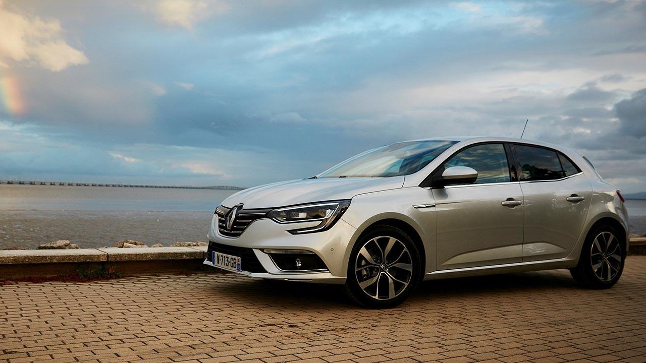 Renault Mégane - am Meer