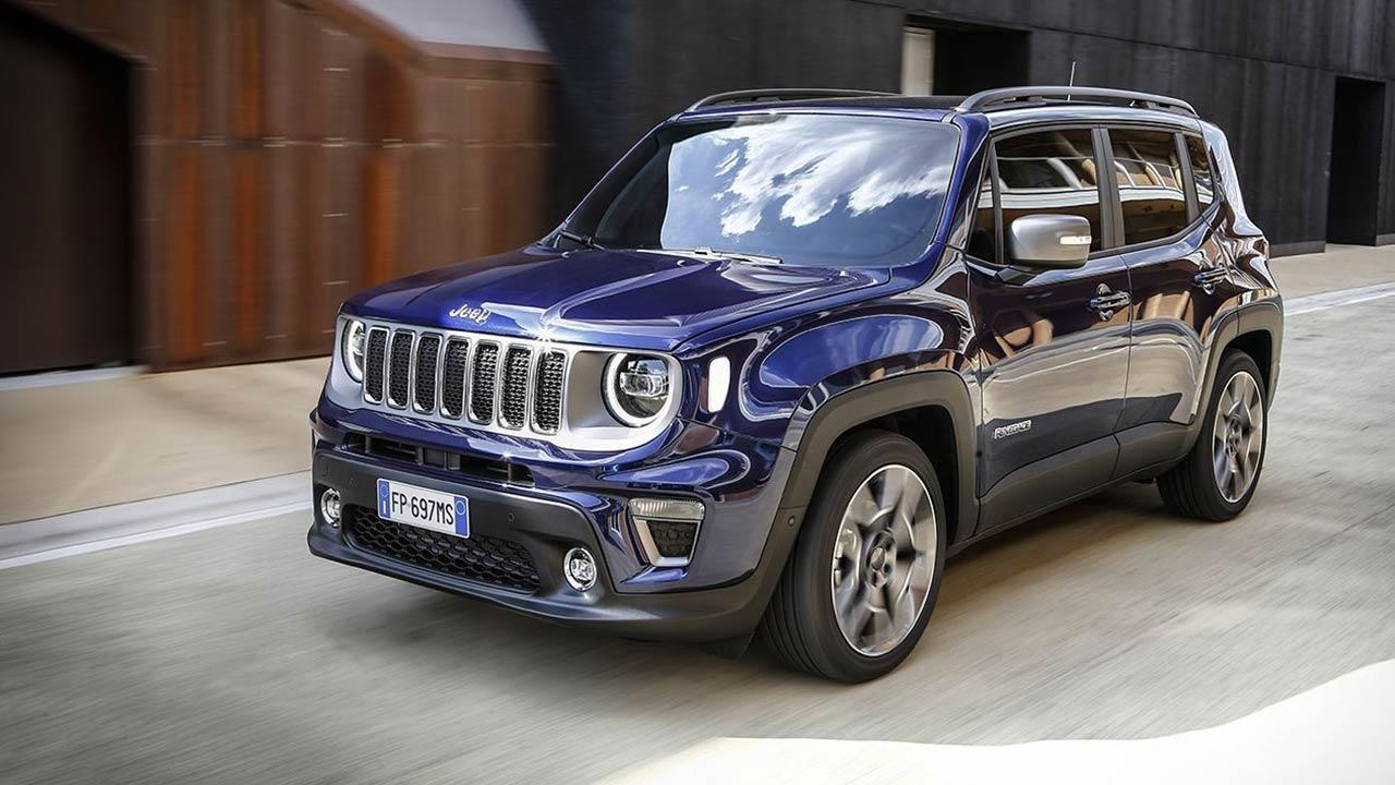 Jeep Renegade - in Fahrt