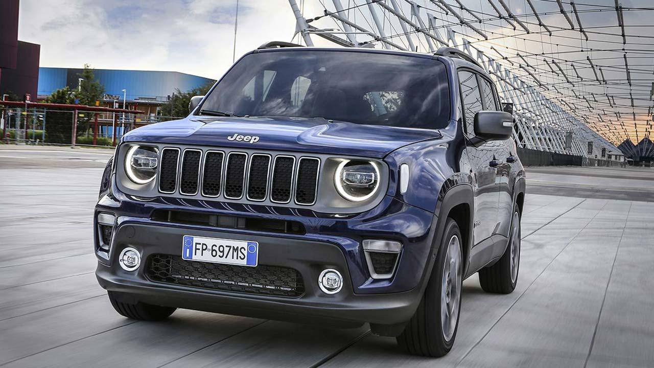 Jeep Renegade - Frontansicht