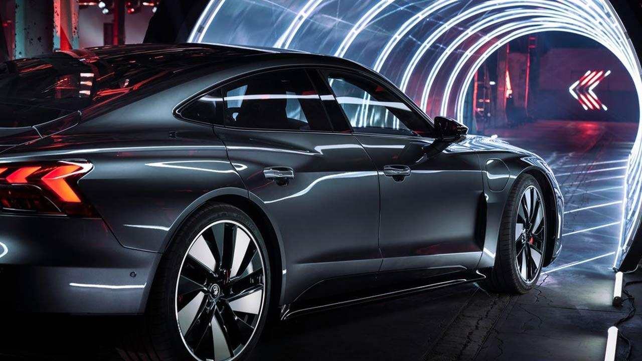 Audi e-tron GT quattro - Seitenansicht