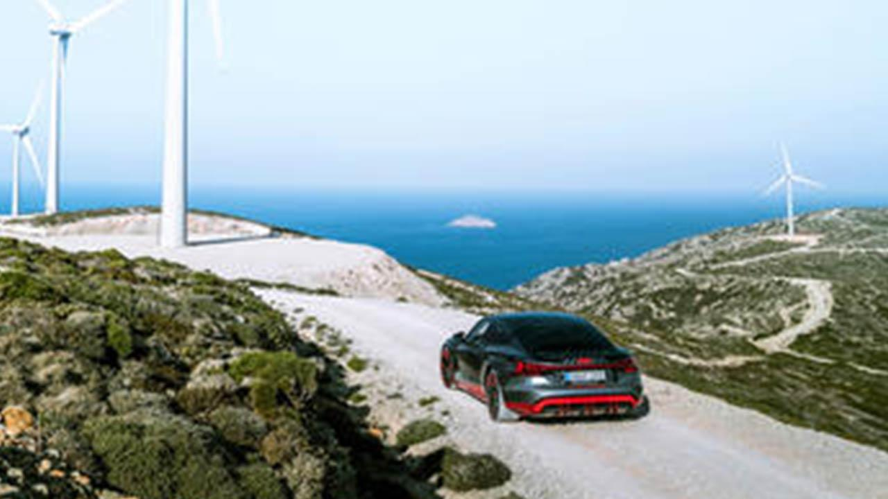 Audi e-tron GT quattro - am Meer