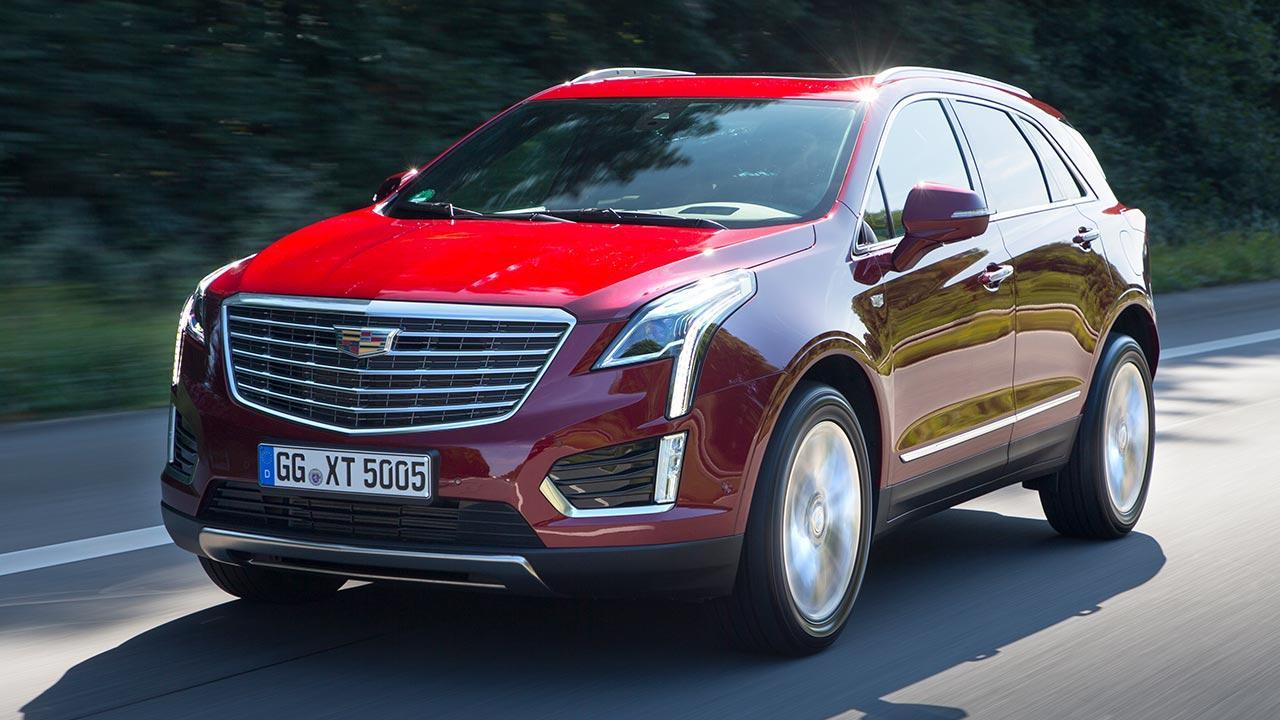 Cadillac XT5 - Frontansicht