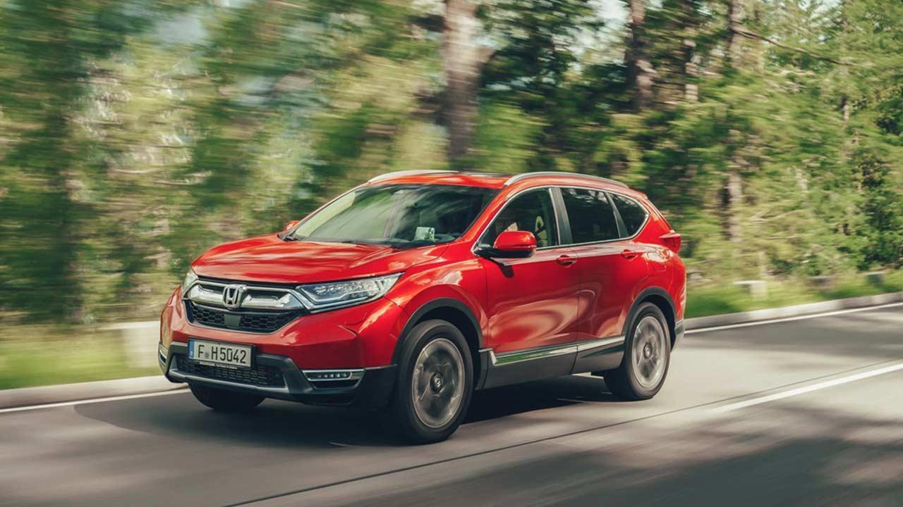 Honda CR-V - auf der Landstraße